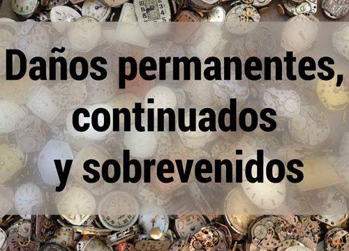 Daños permanentes, continuados y sobrevenidos | Traducción jurídica y jurada de inglés a español