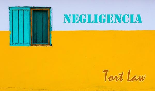 Negligencia, tort law | Traducción jurada de inglés a español