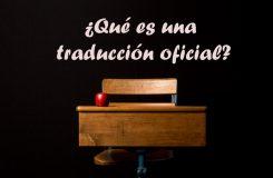 Traducción oficial | Traducción jurídica de inglés a español