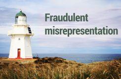 Fraudulent misrepresentation | Traducción jurídica de inglés a español