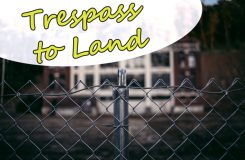 Trespass to land | Traducción jurídica de inglés a español