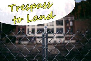 Trespass to land   Traducción jurídica de inglés a español